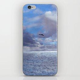 Pastel vibes 42 - El vuelo II iPhone Skin