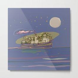 Ocean Cruiser Metal Print