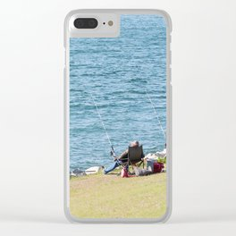 Go Fishing Clear iPhone Case