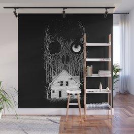 Horror house Wall Mural