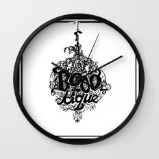 BOOO-tique! Wall Clock