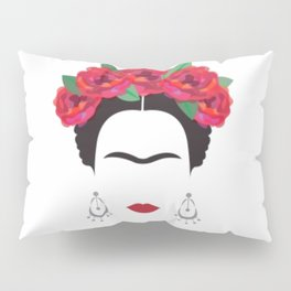 Frida eyebrowns Pillow Sham
