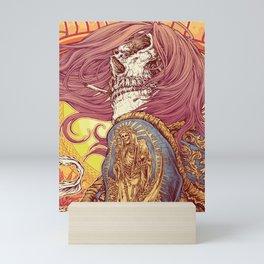 sangre del sol Mini Art Print