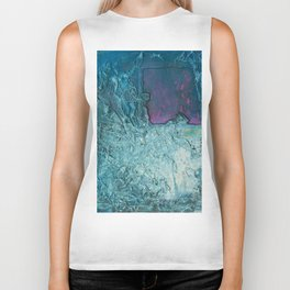 Crumbled Thought Biker Tank