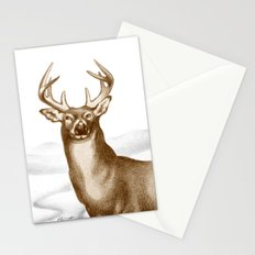 White-tailed Stag 2 Stationery Cards