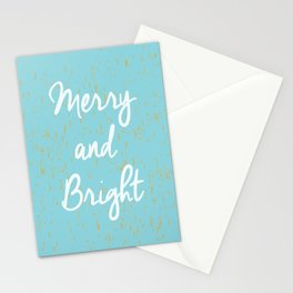 Merry and Bright Stationery Cards