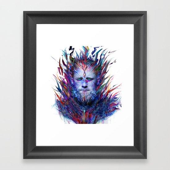 I love winter Framed Art Print
