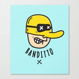 Banditto Canvas Print