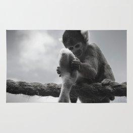 London Monkey Sock Rug