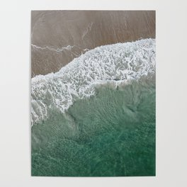 Wrightsville Beach Waves Poster