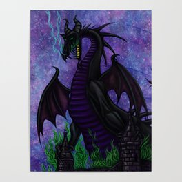 Dragon Maleficent Poster