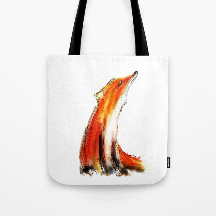 Wise Fox Reverse Tote Bag