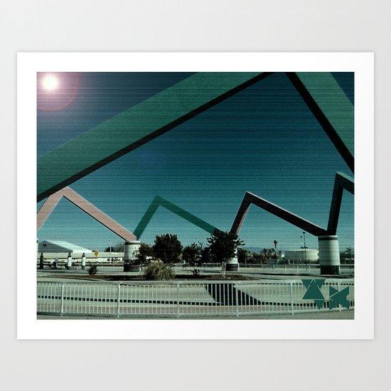 Metro Art Print