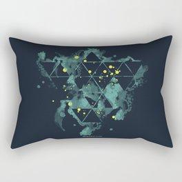 """Gravity Levels """"Space Bird"""" Rectangular Pillow"""