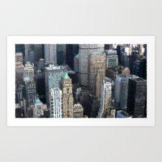 Manhattan Souvenirrs Art Print