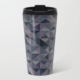 Moody Mosaic Metal Travel Mug