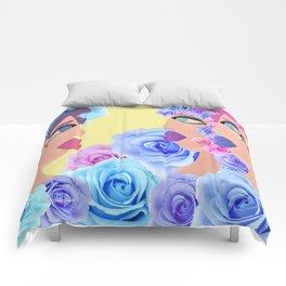 Rosa's Mirror Tale Comforters