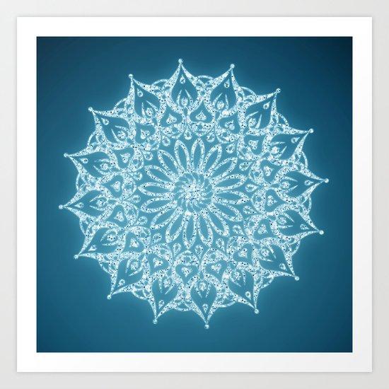 Zen Mandala (Serenity) Art Print