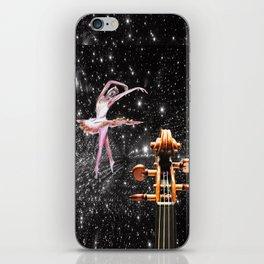 Violin and Ballet Dancer number 1 iPhone Skin