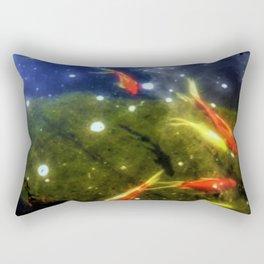 Taking A Swim Rectangular Pillow