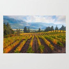 Autumn Vineyard Vista Rug