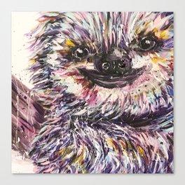 sloth life Canvas Print