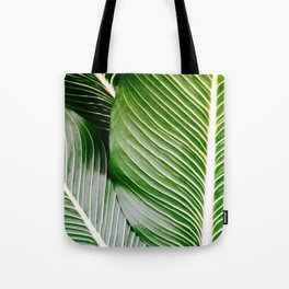 Big Leaves - Tropical Nature Photography Tote Bag