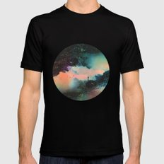 Final Frontier MEDIUM Black Mens Fitted Tee