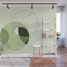 Elegant Circular Geometry Wall Mural