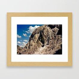 Mineral's Past Framed Art Print