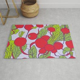 Radish Vegetable Pattern Rug