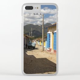 Wonderful Trinidad, Cuba.  A colourful city, at the feet of majestic mountains. Clear iPhone Case