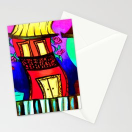 Royal Street Houses Stationery Cards