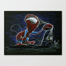 Senior Spidey Canvas Print