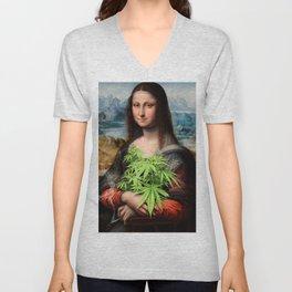 Mona Juana  Unisex V-Neck