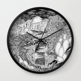 Desert Springs Wall Clock