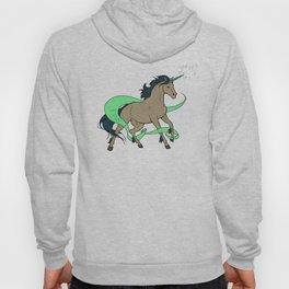 Magical Unicorn (Tan and Navy) Hoody