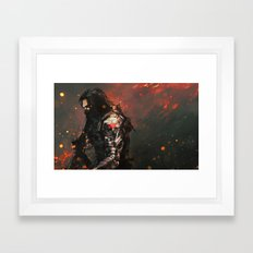 Blood in the Breeze Framed Art Print