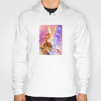 posters Hoodies featuring Paris Posters - Cupid + Psyche by G_Stevenson