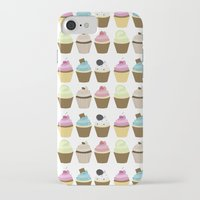 cupcakes iPhone & iPod Cases featuring Cupcakes by heartlocked