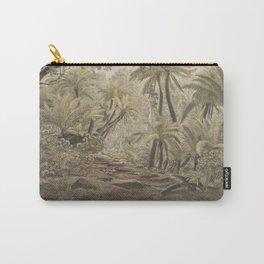 Ferntree Gully, Dandenong Ranges, Victoria by Eu von Guerard Date 1867  Romanticism Series Australia Carry-All Pouch