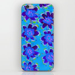 Blueberry Hill Rose iPhone Skin