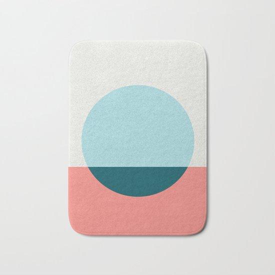 Abstract and minimalist pattern I Bath Mat
