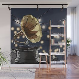 Music Outside Wall Mural