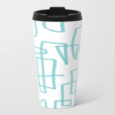 maze Metal Travel Mug