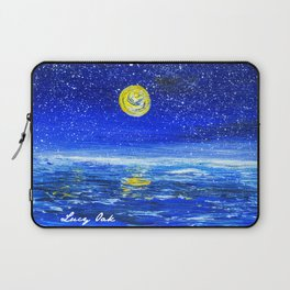 Ocean at Night Laptop Sleeve