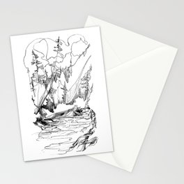 Drawing the Line Stationery Cards