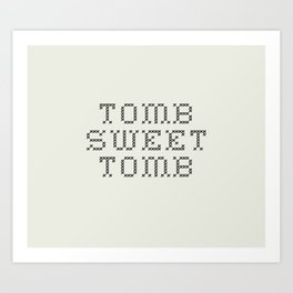 TOMB SWEET TOMB (The Haunted Mansion) Art Print