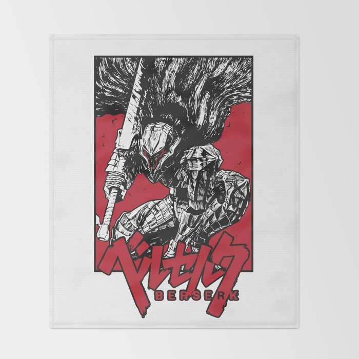 Berserk Throw Blanket