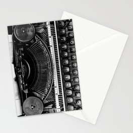 Typewriter Stationery Cards
